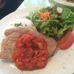 コンシールカフェ ミヤマスザカ - 【ランチ】ポークソテー白インゲン豆のトマトソース 1000円