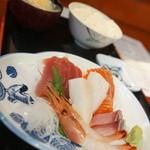 瑠玖&魚平 - 刺身定食