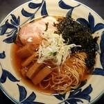 神田 磯野 - 醤油らーめん780円