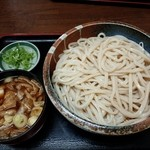 麺処 たかしな - 肉汁うどん(大盛)800円 ※550g