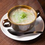 焼肉&ワイン ミヤコヤ. - テールスープ
