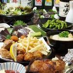 讃岐うどん大使 東京麺通団 - 骨付き鳥コース(4,000円)
