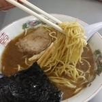 まるたかラーメン - 麺