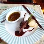 シュバルツバルト - ガトークラシックショコラとピスタチオのブリュレ