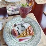 Shubarutsubaruto - 料理写真:移りゆく季の香り いちじく3種
