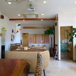 マイカフェ - くつろげるショールームのおしゃれな空間