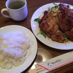 ロペ - 生姜焼きセット 700円(税別)