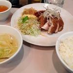 43425267 - 焼鶏定食
