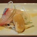 4343563 - 本日の鮮魚のカルパッチョ