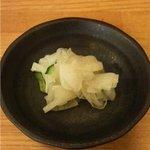 とんかつ 澤樹 - 漬物