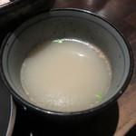 Re時屋 - セットの鳥スープ