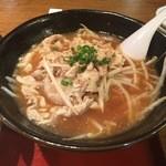 らーめん 麺座 - 豚肉ラーメン