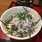 らーめん 麺座 - しらす丼