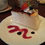 プリンス・イングリッシュティー・ハウス - チーズケーキ