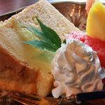 蔵 - ケーキのアップ