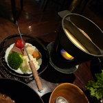 和粋&焼酎 miso bank - 赤・白味噌フォンデュ