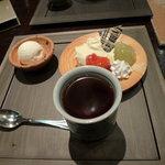 和粋&焼酎 miso bank - 柚子レアチーズ