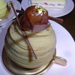 和光 ケーキ&チョコレートショップ  - プルミエマロン(渋皮栗)864円