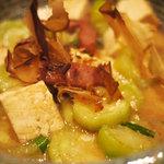 風亭 - 沖縄では体を洗うものではなく、へちまは食べ物。トロトロの食感がたまらない