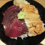 鮨 からく - づけ穴子丼のアップ