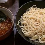 達翁 - つけ麺辛み(並)太 200g 700円