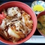 勇舞湯 - 料理写真:牛丼 450円