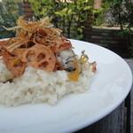 ターボラ - 広島産大粒牡蠣のリゾット