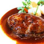 自由ヶ丘グリル - そこそこ美味しいハンバーグ!(^∀^)ノ