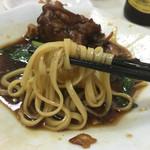 43466636 - 豚脚麺(豚そくそば) つけ麺風に!