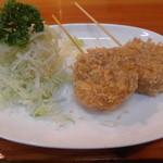 Chima - チーマオリジナル、柔かいヒレかつを使用したチーマ串かつ