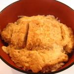 Chima - 肉厚なロースカツ丼