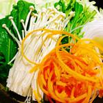 一心 - 旬野菜盛り(っ´ω`c)♡