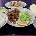 43467856 - 生姜焼き定食