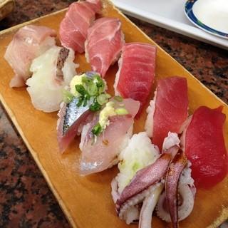 さん和 - 特選まぐろ・地魚セット(みさきまぐろきっぷ)