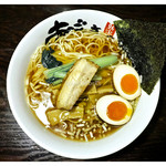 43468167 - 「醤油麺+味玉」(2015.04)
