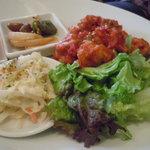 ナチュラルフードクッキング - 土曜限定ワンプレートディッシュ!大豆から揚げのトマトソース煮
