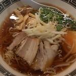 らーめん酒家 驛麺 新大阪 - 醤油ラーメン(770円)