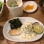トリッチトラッチ - 料理写真:日替わりランチ 白身魚のタルタル