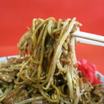 丹頂 - パリパリ麺にフルーティなソースが絡む