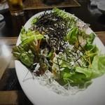 虎龍 - しらすサラダ