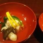 43474574 - 優しいお出汁のごま豆腐椀