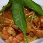 はなのき - 料理写真:アメリケーヌパスタ(えびの頭と、野菜を煮込んでうらごした旨味たっぷりソース)