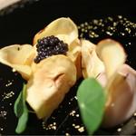 43484251 - 栗とウニ、キャビアの前菜