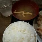 43484615 - 御飯と味噌汁