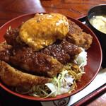 43486074 - 味噌カツ丼ズーム