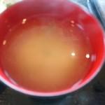 居酒屋 十八番 - 【2015.10.21(水)】味噌汁