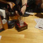 創作ダイニング 夜ノ宴 - まずは高知県の銘酒、酔鯨600円を注文。
