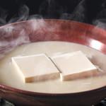 とうふ屋うかい - 料理写真:名物 豆水とうふ