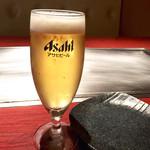 43488764 - グラスビールでスタート
