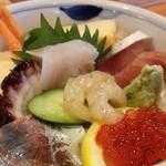 43491531 - ランチちらし寿司(お味噌汁付)・・・税込1080円